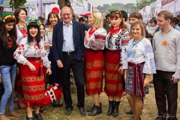 Україну представили на Міжнародному благодійному ярмарку в Індії (Фото)