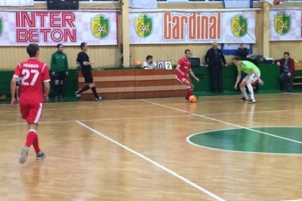 Футзальна  феєрія у матчі «Кардинала-Рівне» та «Хіта»