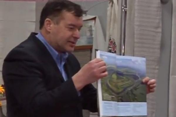 Рівнянам презентували 4 книгу видання серії «Еліта» - «Князі Олельковичі-Слуцькі» (Відео)