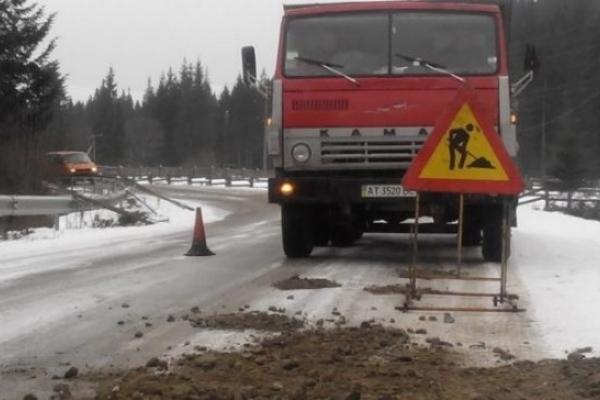 У Костополі ремонт дороги перенесли до кращої погоди