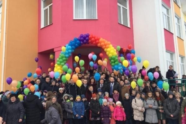 На Рівненщині у селі Пісків Костопільського району відкрили нову школу