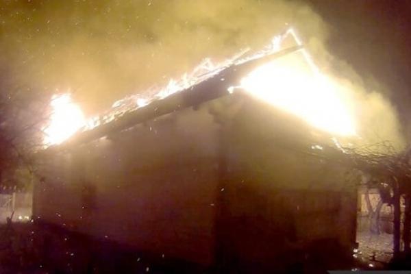 Страшна пожежа у селі Любахи на Володимиреччині: людей врятували сусіди