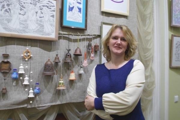 У Рівному відкрилася виставка робіт народних майстрів «Мистецька хуртовина»
