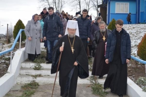 На Різдвяні свята Митрополит Сарненський іПоліський вирушає урайони