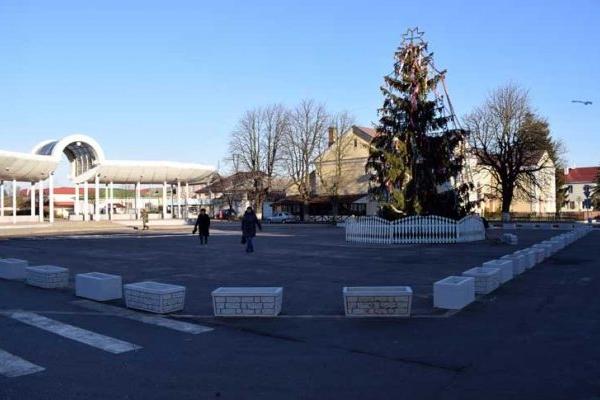 У центрі Володимирця встановили клумби за 25 тисяч гривень (Фото)