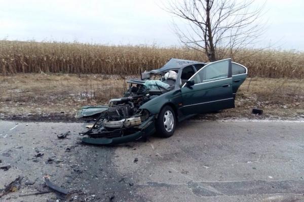 У Рівненському районі внаслідок смертельної ДТП  рятувальники діставали тіла двох загиблих (Фото)