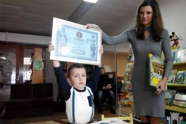 Маленький рівнянин встановив рекорд України