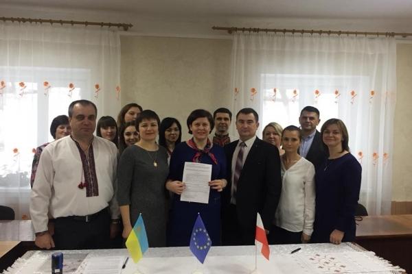На Рівненщині сільська школа працюватиме з польськими колегами