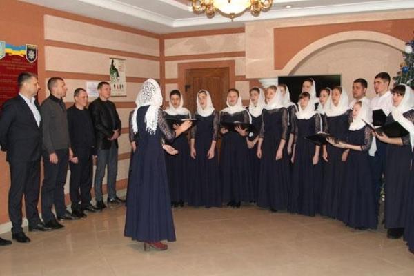 Поліцейським Рівненщини щедрував церковний хор (Фото, відео)