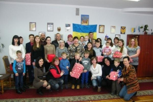 В Здолбунові влаштували свято для дітей учасників АТО