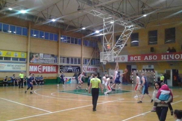 Рівненські баскетболісти обіграли суперників з Дніпра (Фото)