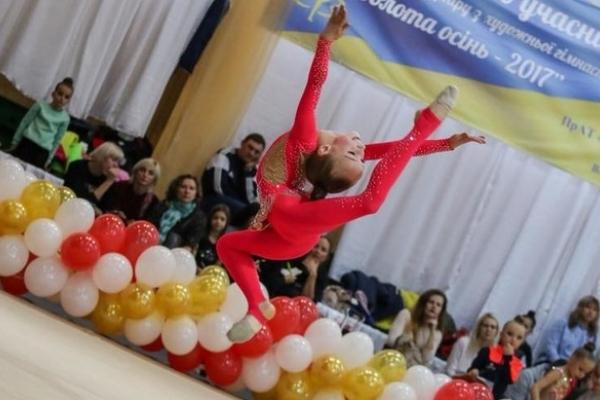 Названо переможців Відкритого Кубку Рівненщини з художньої гімнастики