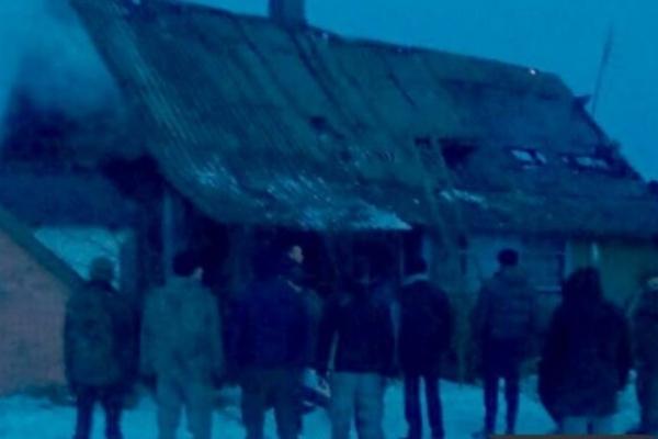 У селі Нетреба через пічне опалення майже повністю згоріла хата