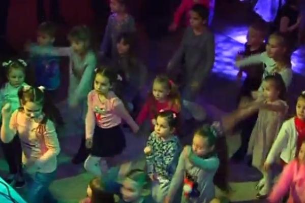 Рівненська дітвора підкорює танцпол (Відео)
