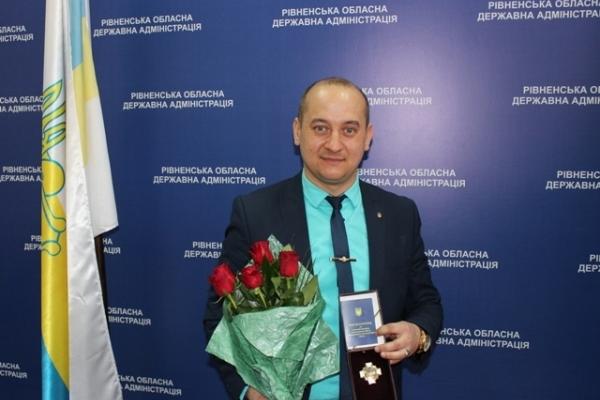«Кіборг» з ОДА отримав почесну нагороду (Фото)