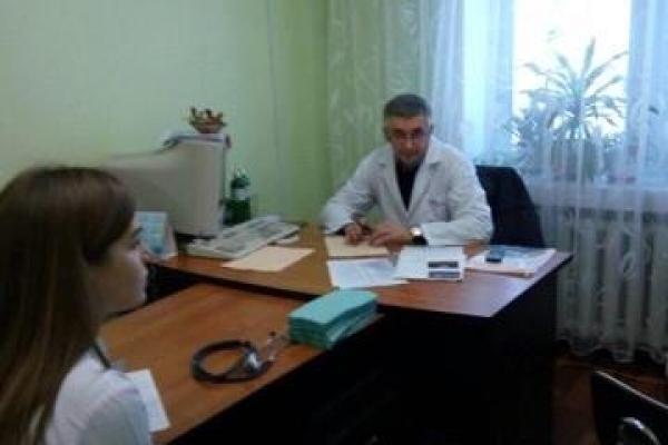 У Рівному пацієнтів діагностували столичні фахівці (Фото)