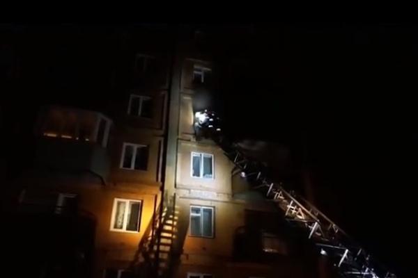 Рівнянин згорів у власному помешканні (Відео)