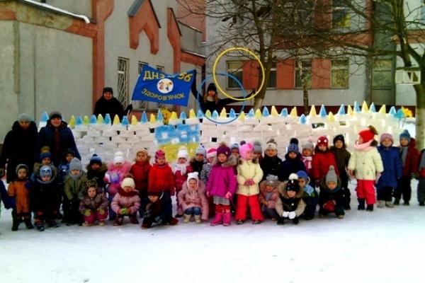 На Рівненщині дітлахи можуть здобути приз за виліплених сніговиків чи фортецю (Фото)