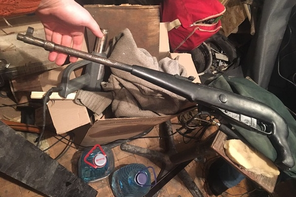 Рівнянин мав цілий арсенал зброї (Фото)