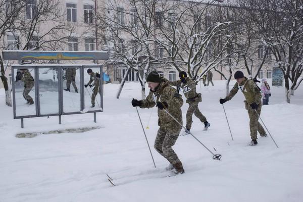 Військові ОК «Захід» змагатимуться у біатлоні (Фото)
