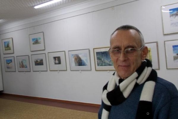 У Рівному можна побачити унікальні акварелі Олександра Бобришева