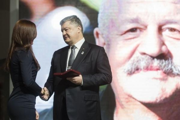 Художника з Рівненщини посмертно відзначили орденом Героїв Небесної Сотні