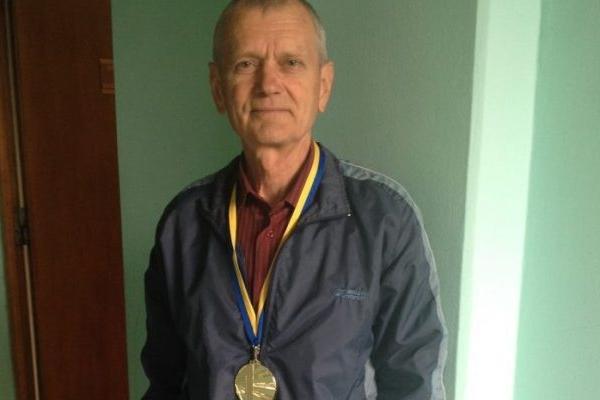 Пенсіонер з Рівненщини виборов чемпіонство України (Фото)