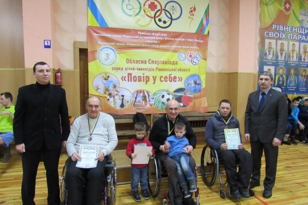 Чемпіонат Рівненської області з настільного тенісу має переможців (Фото)