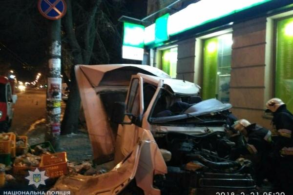 В поліції встановили причину смерті водія хлібовоза