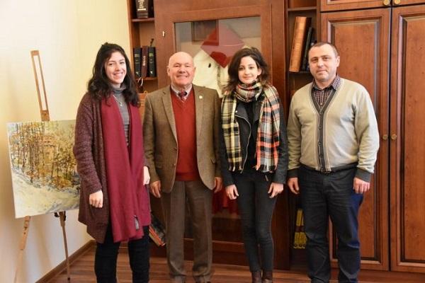 Студентки з Португалії діляться враженнями про місто на Рівненщині