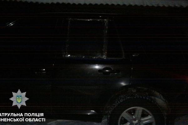 Тернополянин порушив ПДР поблизу Дубна на викраденій автівці (Фото)