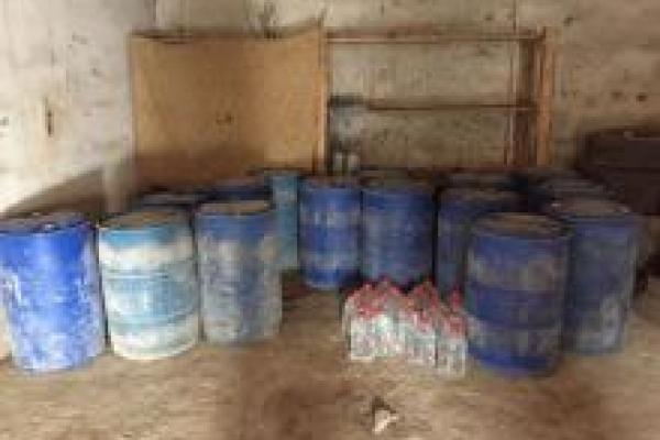 Рівненська поліція виявила фальсифіковані алкогольні напої