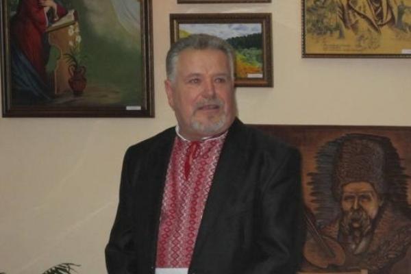 Художник Микола Фесюк  продав картину, а гроші  віддав на порятунок пораненого в АТО бійця