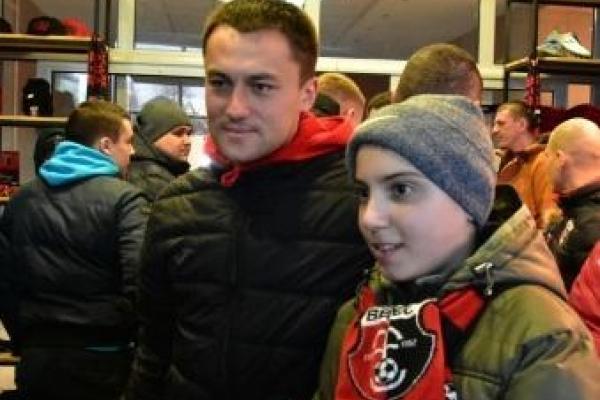 Футболісти рівненського «Вереса» зустрілися з фанами (Відео)