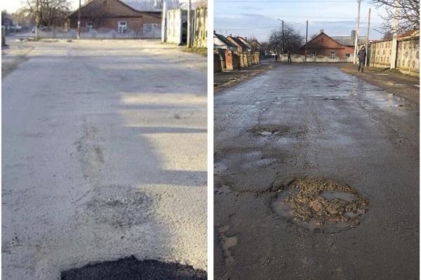 Компанія «Рокфальт» заперечує, що асфальт їхнього виробництва, яким латали дорогу на Рівненщині, міг «зійти» за два тижні (Фото)