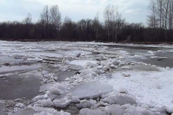 На Рівненщині попереджають про небезпеку льодоходу