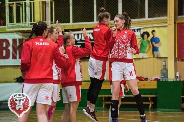 Жіноча команда  БК «Рівне» поступилася суперницям з столичного «Динамо-НПУ»