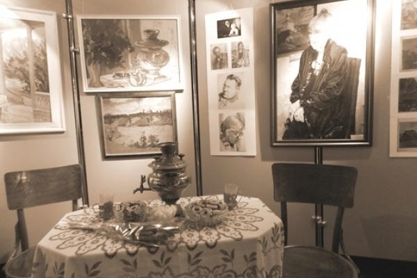 «Волинь у спогадах Георгія Косміаді» -  у Рівненському краєзнавчому музеї відкрилася виставка живопису рівненського художника