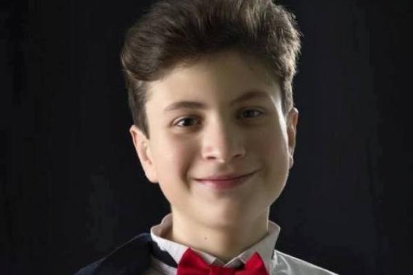 Юному рівненському композитору сьогодні, 17 березня, виповнилося лише п'ятнадцять