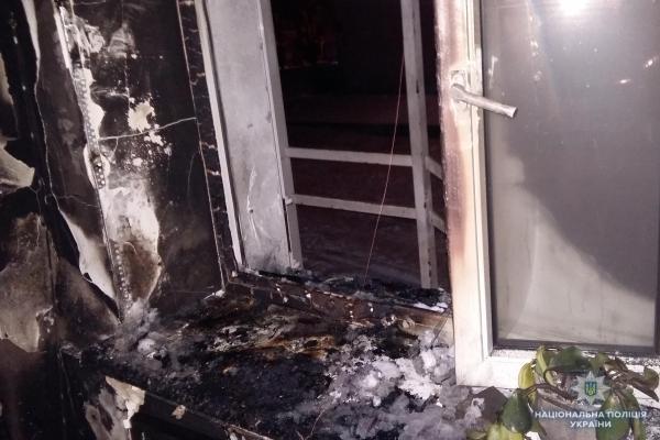 Рівненські поліцейські шукають, хто підпалив офісне приміщення (Фото)