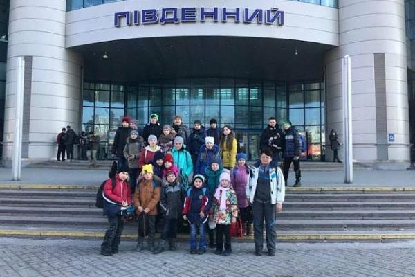 Діти з Донеччини проведуть два тижні на Рівненщині (Фото)