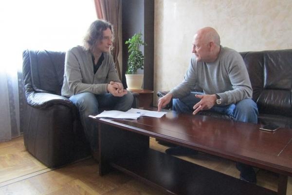 Олександр Данильчук: «Думаю, депутати за мене проголосували перш за все як за людину, здатну нормально домовлятися»