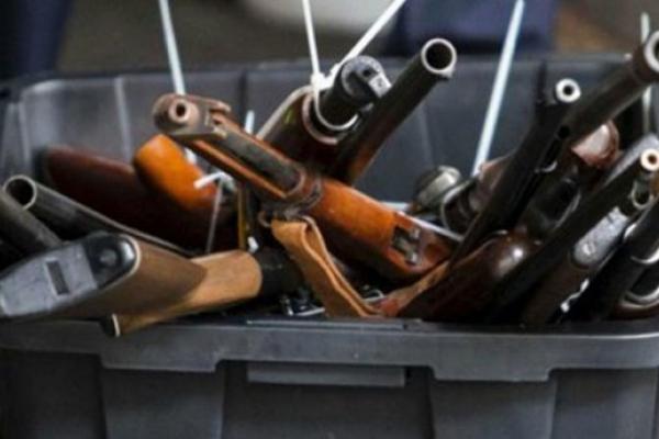 На Рівненщині стартував місячник добровільної здачі зброї