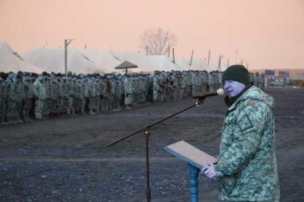 На Рівненському полігоні завершилися навчальні збори резервістів