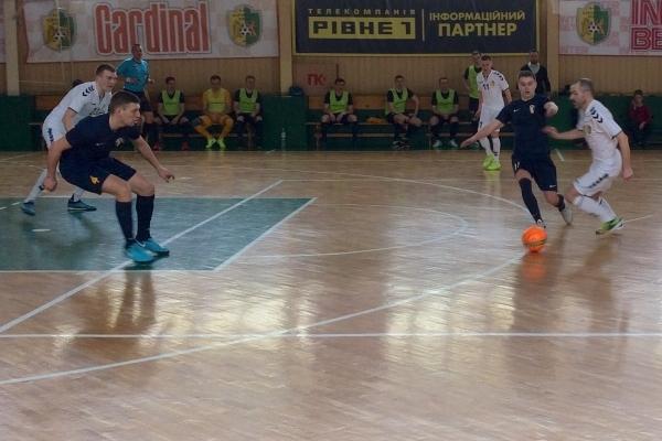 Рівненський «Кардинал» припинив боротьбу у серії плей-офф
