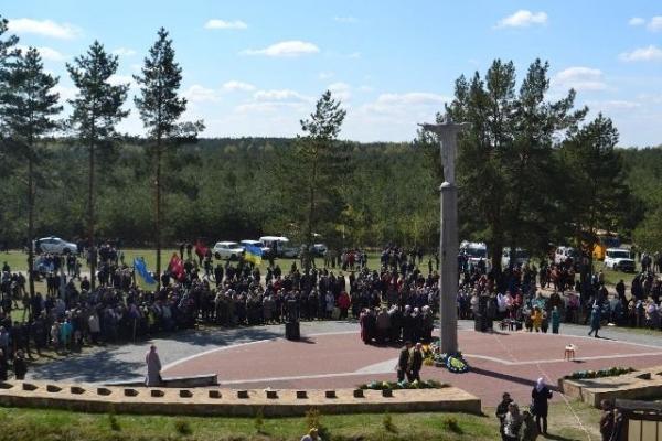 На Рівненщині вшанування героїв, загиблих під час найбільшого бою УПА