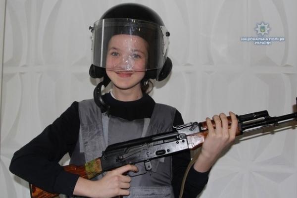 Дітлахи з Донеччини відвідали рівненську поліцію (Фото)