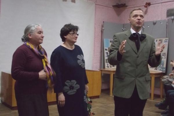 Рівнянам презентували новостворене кіно Віктора Булиги про художника Косміаді