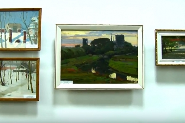 Картини Валентина Колосова показали рівнянам (Відео)