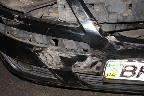 В ДТП на Рівненщині розбилися два автомобілі
